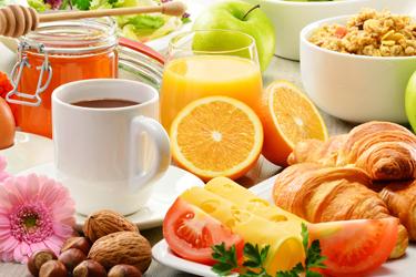 Petit déjeuner complet - Mines de saveurs